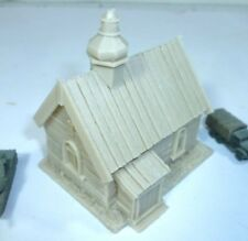 Unpainted resin Russian Church, 6mm wargames, 1/300th and 1/285th scale