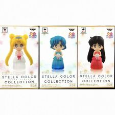 Sailor Moon Stella color collection vol.1 set of 3 full set figure BANPRESTO