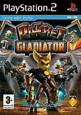 Ratchet Gladiator PS2 PlayStation 2 Video Game Mint Condition UK Release