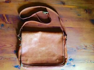 Messenger Leather Bag, Made in Italy