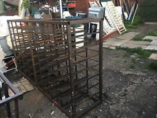 industrial racking steel shelving 257 X138 X 61cm Space  For 64 Drawers Not Inc
