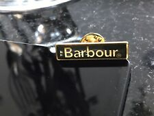 Barbour NEW Pin Badge Gold & Green Metal Coat Jacket, Bag Etc