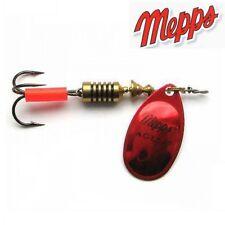 Cuiller Mepps Aglia Platinium N°1 rouge/argent