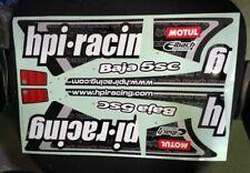 New 1pcs 1/5 HPI baja 5B 5SC 5T KM Car Sticker Decal RC Model #105798