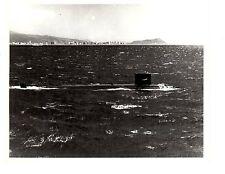 USS Tunny SSN682 Submarine Original Photograph 8x10 BW