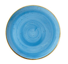 Churchill STONECAST Coupe Plate Cornflower Blue Teller Porzellan 26 cm blau