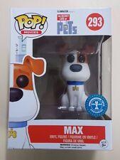 Funko Pop! The Secret Life Of Pets Max Flocked #293 - New  - Fast Dispatch