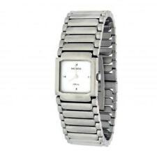 Womens Watch MONDIA AFFINITY 1-470-6 Steel Bracelet White Classic