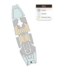 Hobie Pro Angler 12 Interior Standard Series Kit by MARINEMAT (Ocean Camo)