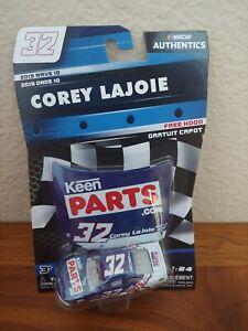 2019 Wave 10 Corey LaJoie Keen Parts Throwback 1/64 NASCAR Authentics Diecast
