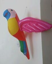 Inflatable new parrot easy to blow up fun for kids