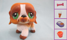 Littlest Pet Shop Dog St. Bernard 335 and Free Accessory Authentic Lps