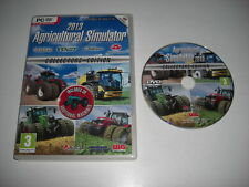 AGRICULTURAL SIMULATOR 2013 - Collector's Edition Pc DVD Rom FAST DISPATCH