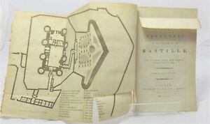 1784 BASTILLE Historical Remarks and Anecdotes BROSSAIS Du PERRAY
