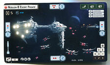 Star Wars Armada Nebulon-B Alternitive Art Card Massing at Sullust