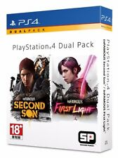 Infamous Second Son + First Light Dual Pack HK Chinese/English subtitle PS4 NEW