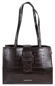 Valentino Bags by Mario Valentino Tasche Platz moro braun VBS4I701C Reptiloptik