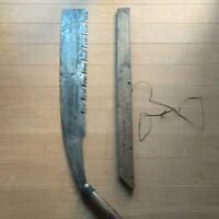 61 cm Japanese Vintage Woodworking Carpentry Tool Single Edged Saw Retro Used