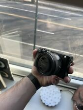 Sony Alpha A6300 24.2MP Digital Camera - Black (Kit with 16-50 mm Zoom Lens)