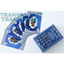 Square Enix Final Fantasy Transparent Playing Cards