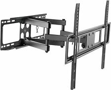 Staffa supporto braccio da parete a muro per TV 40 43 49 50 55 58 65 70 pollici