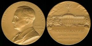 "HARRY S. TRUMAN 1945-1949 U.S. MINT INAUGURATION 34mm (1.34"") TOKEN"