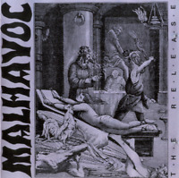 Malhavoc ‎– The Release CD 1992 Devotion – CDDVN 11 - UK Press