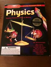 SCIENCE WIZ - PHYSICS - PENNY NORMAN Ph.D EDUCATIONAL TOY BOOK / KIT