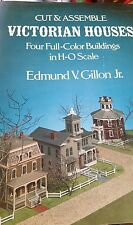 Cut & Assemble Victorian Houses H-O Scale