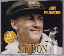 John Williamson - Sir Don (Bradman) **Rare 1996 Australian 4 Track CD Single**