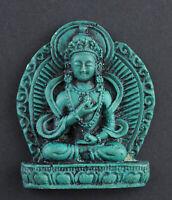 Amuleto Tibetano Vajrasattva Bodhisattva Tsa IN Resina Talismano 26515