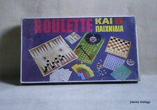 ROULETTE & 6 GAMES MISB KATSAROPOULOS 70's GREECE GREEK VINTAGE