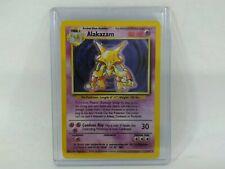 Alakazam Holographic Pokemon Card
