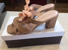 STUNNING CLASSY marc by Marc Jacobs Patent Nude Sandals Size 38