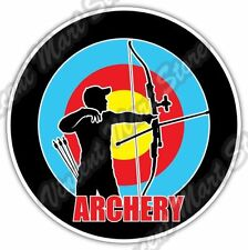 Archery Archer Target Bow Aim Arrow Car Bumper Window Vinyl Sticker Decal 4.6""