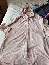 """Ladies / Teenagers light pink lonsdale cardigan 46""""chest very long brand new"""