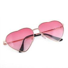 Summer Fashion Women Love Heart Shape Lens Sunglasses Eyewear Eyeglasses Gift