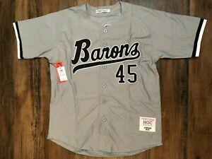 Michael Jordan Birmingham Barons Gray Baseball Jersey NWT Minor League Headgear