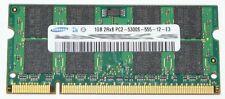 1GB 2Rx8 DDR2-RAM 667MHz PC2-5300S SAMSUNG Notebook Arbeitsspeicher