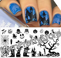 BORN PRETTY Manicure Stamp Nail Art Image Stamping Plate Halloween BP-L031