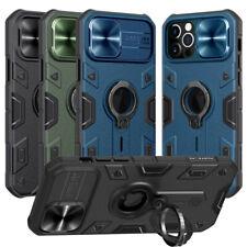 NILLKIN Camera Lens Slide Case Armor Ring Holder Cover For iPhone 12 11 Pro Max