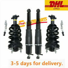 4Pcs Air Strut Shock Absorber Front & Rear For Cadillac Escalade Chevy GMC Yukon