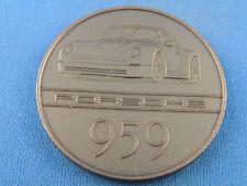 "Porsche Medaille Bronze 1985  ""Porsche  959""  (B100)"