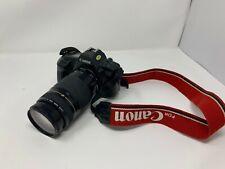 Canon SLR film Camera EOS 650 + Canon auto/manual zoom lens ef 75-300mm 1:4-5.6
