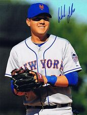 Wilmer Flores Signed Autographed 8x10 Rookie Photo - W/COA NY Mets Diamondbacks