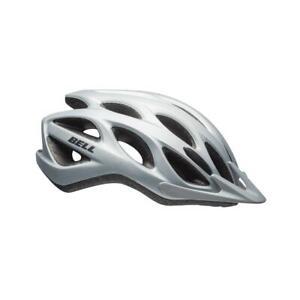 Bell Tracker Bicycle Cycle Bike Helmet Matt Silver - 54-61 CM