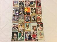 HALL OF FAME Baseball Card Lot 1976-2020 JIM THOME KEN GRIFFEY JR. TY COBB