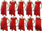 *HOT* MULTI WEAR MAXI INFINITY CONVERTIBLE DRESS RED TWIST SIZE:AU 8-18,US 4-16