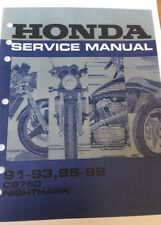 buy honda nighthawk motorcycle service repair manuals ebay rh ebay co uk Honda CB750 Bobber Honda CB750 Cafe Racer