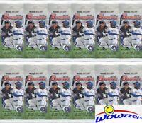 (12) 2019 Bowman Baseball Factory Sealed JUMBO FAT PACKS-228 Cards! Super HOT!